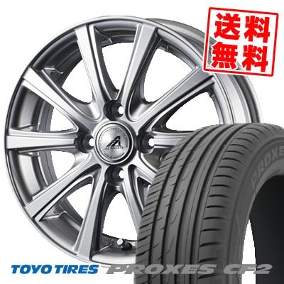 185/60R15 84H TOYO TIRES トーヨー タイヤ PROXES CF2 プロクセス CF2 AZ sports YL-10 AZスポーツ YL-10 サマータイヤホイール4本セット
