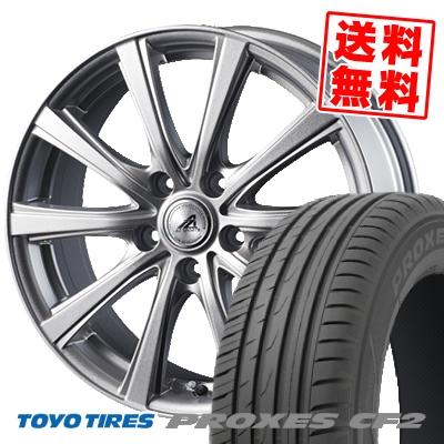 205/60R15 91H TOYO TIRES トーヨー タイヤ PROXES CF2 プロクセス CF2 AZ sports YL-10 AZスポーツ YL-10 サマータイヤホイール4本セット