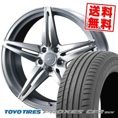 245/40R20 99W TOYO TIRES トーヨー タイヤ PROXES CF2 SUV プロクセス CF2 SUV WEDS F ZERO FZ-3 ウェッズ エフゼロ FZ-3 サマータイヤホイール4本セット