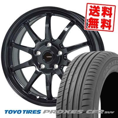 235/65R18 106H TOYO TIRES トーヨー タイヤ PROXES CF2 SUV プロクセス CF2 SUV G.speed G-04 Gスピード G-04 サマータイヤホイール4本セット