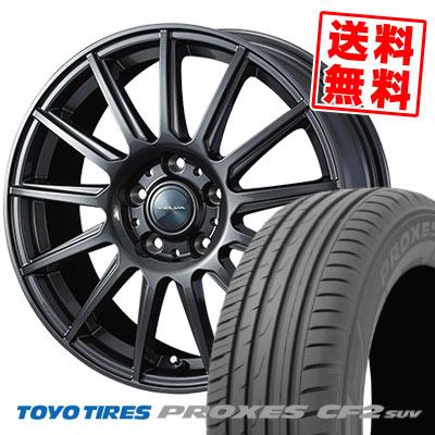215/70R16 100H TOYO TIRES トーヨー タイヤ PROXES CF2 SUV プロクセス CF2 SUV VELVA IGOR ヴェルヴァ イゴール サマータイヤホイール4本セット