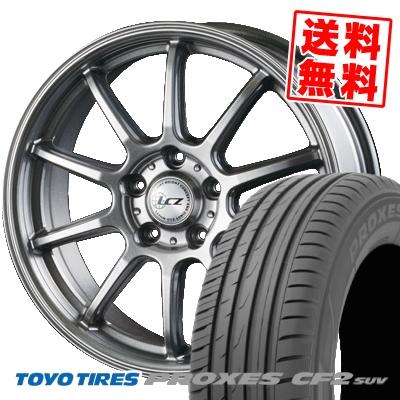 215/70R16 100H TOYO TIRES トーヨー タイヤ PROXES CF2 SUV プロクセス CF2 SUV LCZ010 LCZ010 サマータイヤホイール4本セット