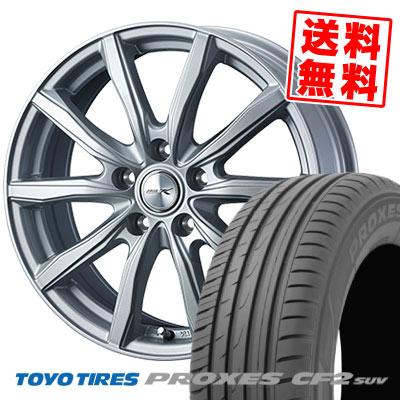215/70R16 100H TOYO TIRES トーヨー タイヤ PROXES CF2 SUV プロクセス CF2 SUV JOKER SHAKE ジョーカー シェイク サマータイヤホイール4本セット