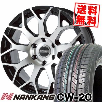 215/60R17C 109/107N NANKANG ナンカン CW-20 CW-20 ESSEX EM エセックス EM サマータイヤホイール4本セット for 200系ハイエース