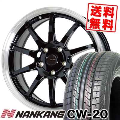215/70R15 109/107S NANKANG ナンカン CW-20 CW-20 G.speed P-04 ジースピード P-04 サマータイヤホイール4本セット【取付対象】