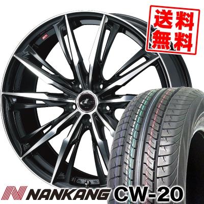 215/70R15 109/107S NANKANG ナンカン CW-20 CW-20 WEDS LEONIS GX ウェッズ レオニス GX サマータイヤホイール4本セット