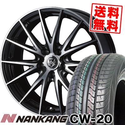 215/70R15 109/107S NANKANG ナンカン CW-20 CW-20 WEDS RIZLEY VS ウェッズ ライツレー VS サマータイヤホイール4本セット