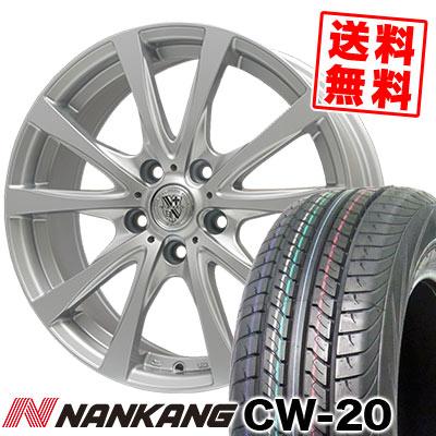 215/70R15 109/107S NANKANG ナンカン CW-20 CW-20 TRG-SILBAHN TRG シルバーン サマータイヤホイール4本セット