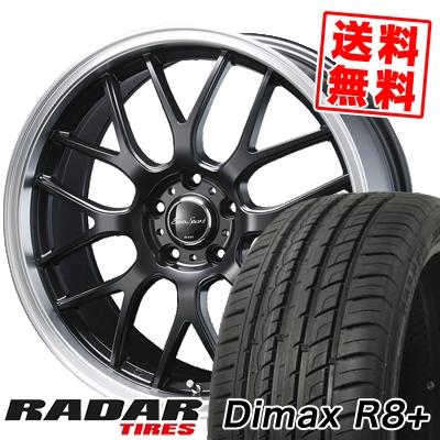 245/45R19 102Y XL RADAR レーダー Dimax R8+ ディーマックス アールエイト プラス Eoro Sport Type 805 ユーロスポーツ タイプ805 サマータイヤホイール4本セット