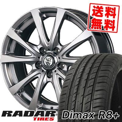 215/45R18 93Y XL RADAR レーダー DimaxR8+ ディーマックス アールエイト プラス TRG-BAHN TRG バーン サマータイヤホイール4本セット【取付対象】