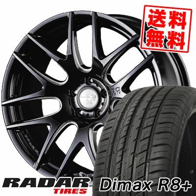 255/45R20 105Y XL RADAR レーダー Dimax R8+ ディーマックス アールエイト プラス Balken BTC basic ヴァルケン BTC ベーシック サマータイヤホイール4本セット