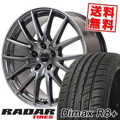 225/45R18 95Y XL RADAR レーダー Dimax R8+ ディーマックス アールエイト プラス VERTEC ONE Eins.1 ヴァーテック ワン アインス ワン サマータイヤホイール4本セット