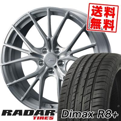 225/45R18 95Y XL RADAR レーダー Dimax R8+ ディーマックス アールエイト プラス WEDS F ZERO FZ-1 ウェッズ エフゼロ FZ-1 サマータイヤホイール4本セット