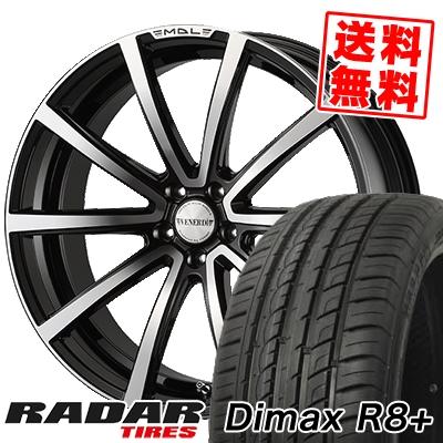 265/40R22 106W XL RADAR レーダー Dimax R8+ ディーマックス アールエイト プラス VENERDi MADELENA LATINA ヴェネルディ マデリーナ ラティーナ サマータイヤホイール4本セット