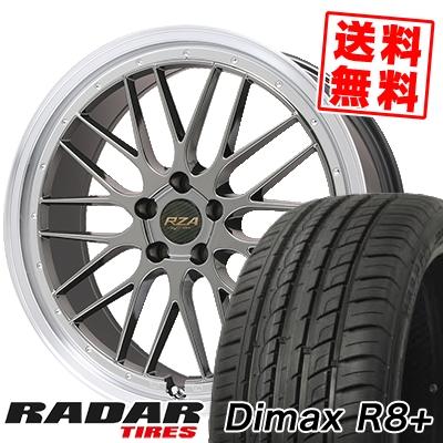 255/45R20 105Y XL RADAR レーダー Dimax R8+ ディーマックス アールエイト プラス Leycross REZERVA レイクロス レゼルヴァ サマータイヤホイール4本セット