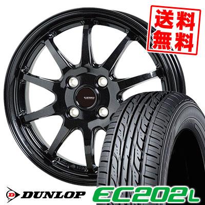 185/70R14 88S DUNLOP ダンロップ EC202L EC202L G.speed G-04 Gスピード G-04 サマータイヤホイール4本セット