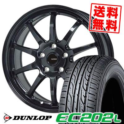 205/65R15 94S DUNLOP ダンロップ EC202L EC202L G.speed G-04 Gスピード G-04 サマータイヤホイール4本セット