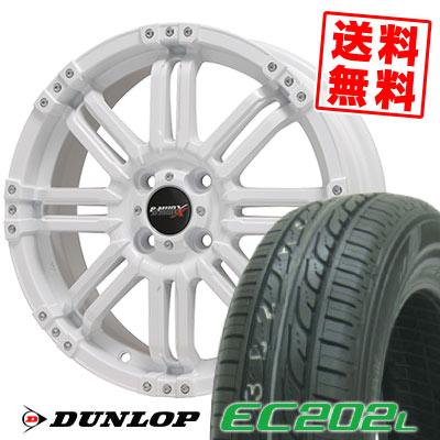 155/65R14 75S DUNLOP ダンロップ EC202L EC202L B-MUD X Bマッド エックス サマータイヤホイール4本セット