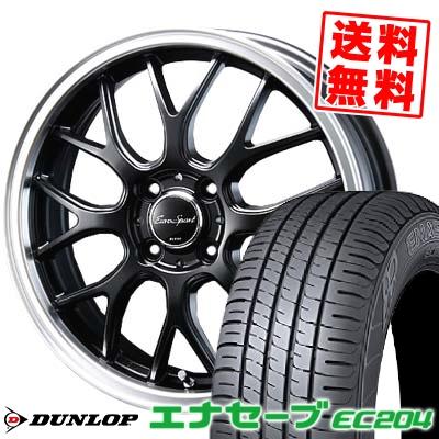 165/60R15 77H DUNLOP ダンロップ ENASAVE EC204 エナセーブ EC204 Eoro Sport Type 805 ユーロスポーツ タイプ805 サマータイヤホイール4本セット【取付対象】