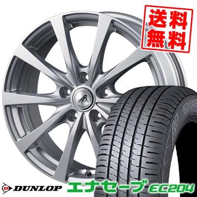 205/60R16 92H DUNLOP ダンロップ ENASAVE EC204 エナセーブ EC204 AZ SPORTS EX10 AZスポーツ EX10 サマータイヤホイール4本セット