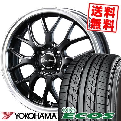 155/55R14 69V YOKOHAMA ヨコハマ DNA ECOS ES300 DNA エコス ES300 Eoro Sport Type 805 ユーロスポーツ タイプ805 サマータイヤホイール4本セット