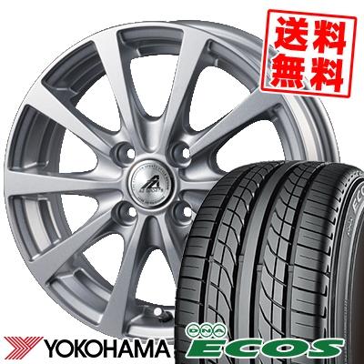 135/80R12 68S YOKOHAMA ヨコハマ DNA ECOS ES300 DNA エコス ES300 AZ SPORTS EX10 AZスポーツ EX10 サマータイヤホイール4本セット