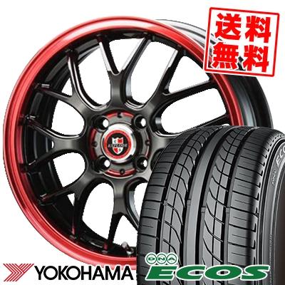 17インチ YOKOHAMA ヨコハマ DNA ECOS ES300 エコス 215 40 17 83W RBM EXPLODE-RBM サマーホイールセット 215-40-17 エクスプラウド 40R17 安全 本日の目玉 サマータイヤホイール4本セット 取付対象