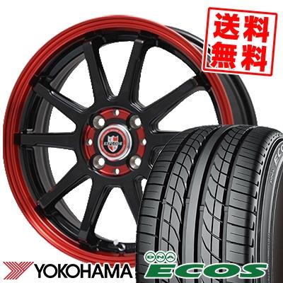 195/50R15 82V YOKOHAMA ヨコハマ DNA ECOS ES300 DNA エコス ES300 EXPRLODE-RBS エクスプラウド RBS サマータイヤホイール4本セット