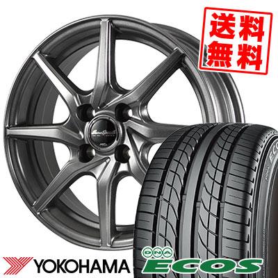 155/70R12 73S YOKOHAMA ヨコハマ DNA ECOS ES300 DNA エコス ES300 EuroSpeed G810 ユーロスピード G810 サマータイヤホイール4本セット
