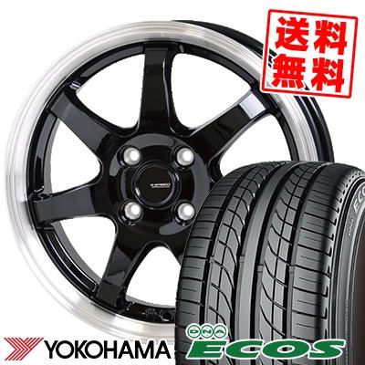 155/55R14 69V YOKOHAMA ヨコハマ DNA ECOS ES300 DNA エコス ES300 G.speed P-03 ジースピード P-03 サマータイヤホイール4本セット