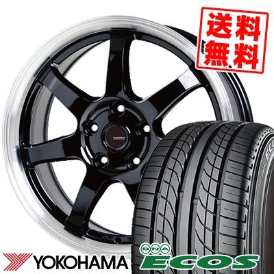225/50R17 94V YOKOHAMA ヨコハマ DNA ECOS ES300 DNA エコス ES300 G.speed P-03 ジースピード P-03 サマータイヤホイール4本セット