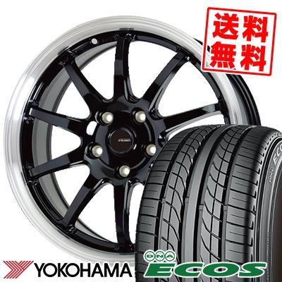 225/50R17 94V YOKOHAMA ヨコハマ DNA ECOS ES300 DNA エコス ES300 G.speed P-04 ジースピード P-04 サマータイヤホイール4本セット