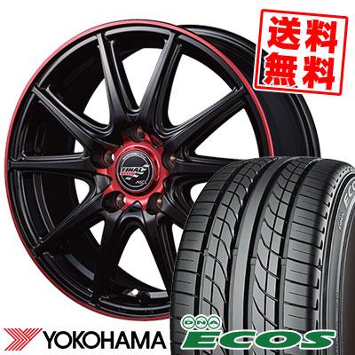 225/40R18 88W YOKOHAMA ヨコハマ DNA ECOS ES300 DNA エコス ES300 FINALSPEED GR-Volt ファイナルスピード GRボルト サマータイヤホイール4本セット