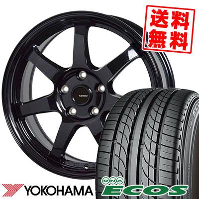 225/50R16 92V YOKOHAMA ヨコハマ DNA ECOS ES300 DNA エコス ES300 G.speed G-03 Gスピード G-03 サマータイヤホイール4本セット
