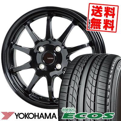 205/55R15 87V YOKOHAMA ヨコハマ DNA ECOS ES300 DNA エコス ES300 G.speed G-04 Gスピード G-04 サマータイヤホイール4本セット