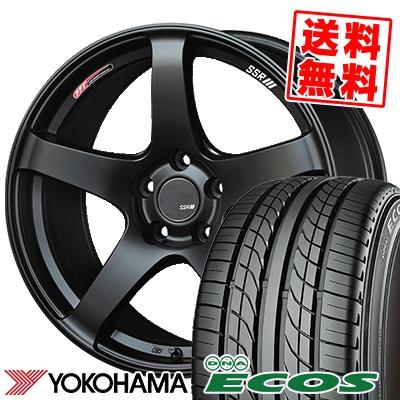 245/40R19 94W YOKOHAMA ヨコハマ DNA ECOS ES300 DNA エコス ES300 SSR GTV01 SSR GTV01 サマータイヤホイール4本セット