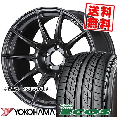 215/40R17 83W YOKOHAMA ヨコハマ DNA ECOS ES300 DNA エコス ES300 SSR GT X01 SSR GT X01 サマータイヤホイール4本セット