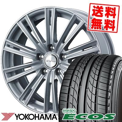 235/45R17 93W YOKOHAMA ヨコハマ DNA ECOS ES300 DNA エコス ES300 WEDS JOKER ICE ウェッズ ジョーカー アイス サマータイヤホイール4本セット