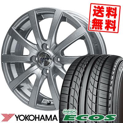 205/55R15 87V YOKOHAMA ヨコハマ DNA ECOS ES300 DNA エコス ES300 ZACK JP-110 ザック JP110 サマータイヤホイール4本セット