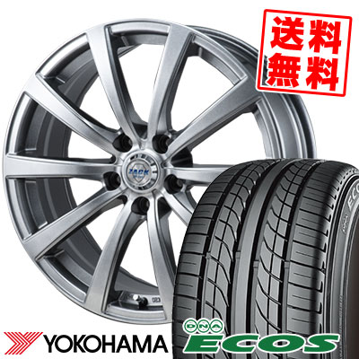 235/45R17 93W YOKOHAMA ヨコハマ DNA ECOS ES300 DNA エコス ES300 ZACK JP-110 ザック JP110 サマータイヤホイール4本セット