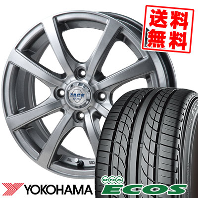 145/70R12 69S YOKOHAMA ヨコハマ DNA ECOS ES300 DNA エコス ES300 ZACK JP-110 ザック JP110 サマータイヤホイール4本セット