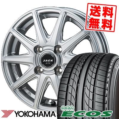 135/80R12 68S YOKOHAMA ヨコハマ DNA ECOS ES300 DNA エコス ES300 ZACK JP-710 ザック ジェイピー710 サマータイヤホイール4本セット