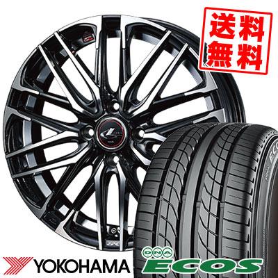 205/45R16 83W YOKOHAMA ヨコハマ DNA ECOS ES300 DNA エコス ES300 WEDS LEONIS SK ウェッズ レオニス SK サマータイヤホイール4本セット