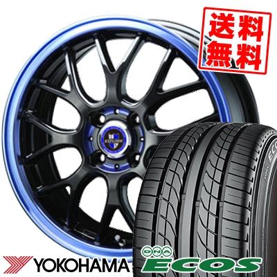 17インチ YOKOHAMA ヨコハマ DNA 開催中 ECOS ES300 エコス 215 40 17 超人気 専門店 取付対象 エクスプラウド 83W サマータイヤホイール4本セット 215-40-17 サマーホイールセット 40R17 EXPLODE RBM