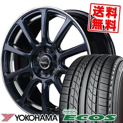 235/45R17 93W YOKOHAMA ヨコハマ DNA ECOS ES300 DNA エコス ES300 Rapid Performance ZX10 ラピッド パフォーマンス ZX10 サマータイヤホイール4本セット