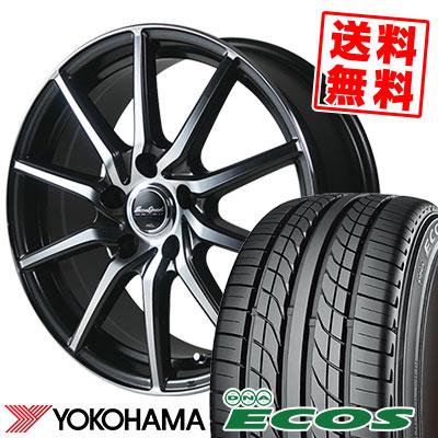 225/50R17 94V YOKOHAMA ヨコハマ DNA ECOS ES300 DNA エコス ES300 EuroSpeed S810 ユーロスピード S810 サマータイヤホイール4本セット