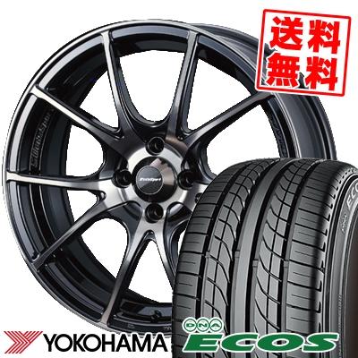 195/50R15 82V YOKOHAMA ヨコハマ DNA ECOS ES300 DNA エコス ES300 wedsSport SA-10R ウエッズスポーツ SA10R サマータイヤホイール4本セット