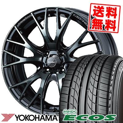 205/45R16 83W YOKOHAMA ヨコハマ DNA ECOS ES300 DNA エコス ES300 WedsSport SA-20R ウェッズスポーツ SA20R サマータイヤホイール4本セット