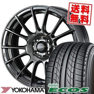 205/50R16 87V YOKOHAMA ヨコハマ DNA ECOS ES300 DNA エコス ES300 WedsSport SA-72R ウェッズスポーツ SA-72R サマータイヤホイール4本セット