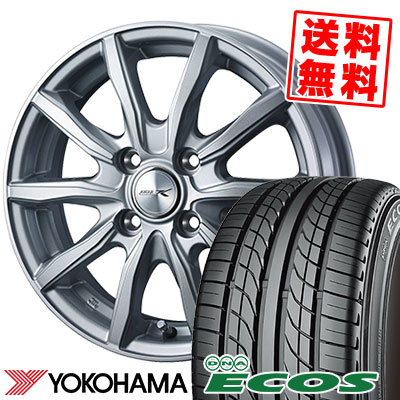 145/70R12 69S YOKOHAMA ヨコハマ DNA ECOS ES300 DNA エコス ES300 JOKER SHAKE ジョーカー シェイク サマータイヤホイール4本セット